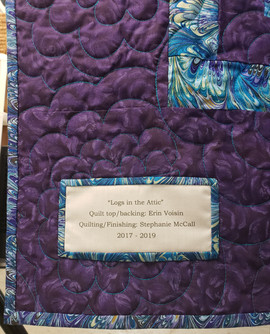 Quilting, Binding, and Label.