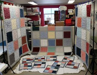 1 Wardrobe = Many Quilts