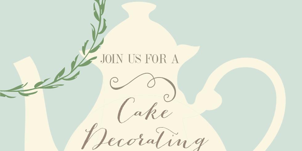 Cake Decorating ParTEA!