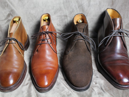 Reviewing Chukka boots from Tricker's,  Enzo Bonafe, Edward Green, John Lobb - from £395 to £1,120