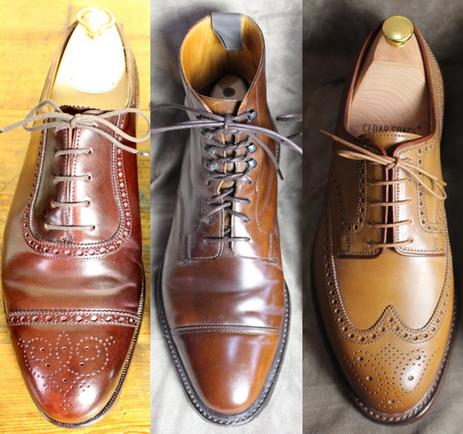 Crockett & Jones Shell Cordovan shoes - a review of their three most popular shades