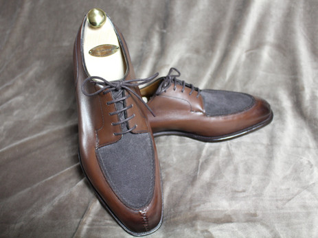 Edward Green Dover Review - Dark Oak and Lavagna Suede. The peak of British RTW shoemaking?