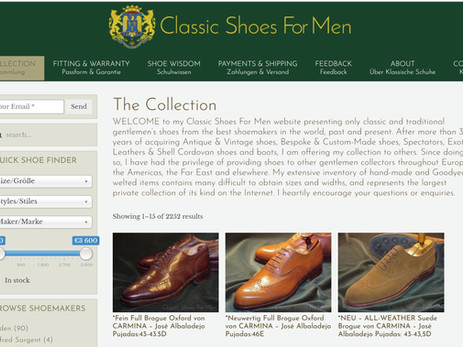 Some sources for shopping online for rare, unusual or vintage shoes -there's more than just eBay