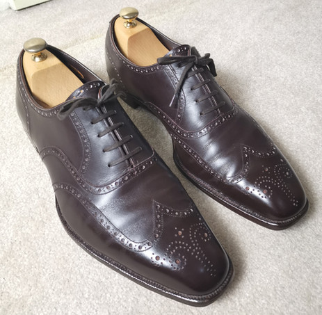 George Cleverley Bespoke Wingtip Imitation Brogue Review - how much shoe do you get for £5,000?