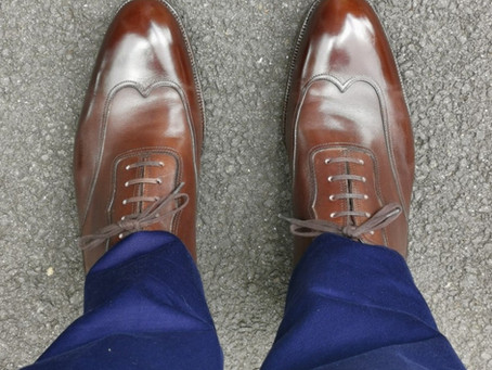 A review of the Saint Crispin's Mod 104 Austerity Brogue