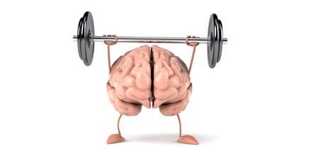 cérebro malhando