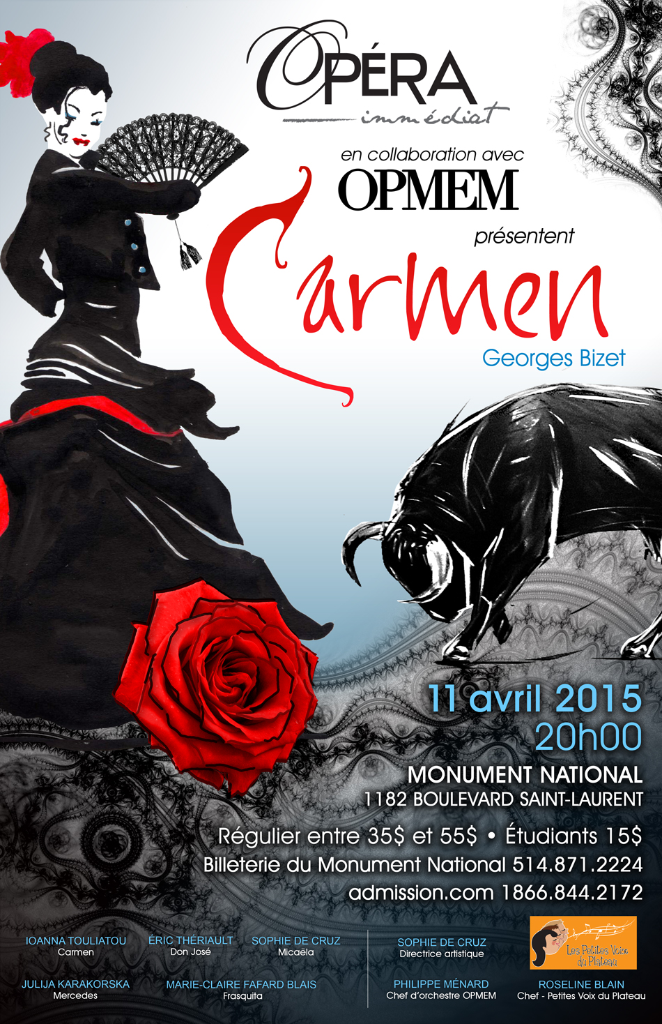 Carmen with Opera Immediat
