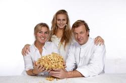 Isabelle, Amber-Lynn, Lieven Lootens