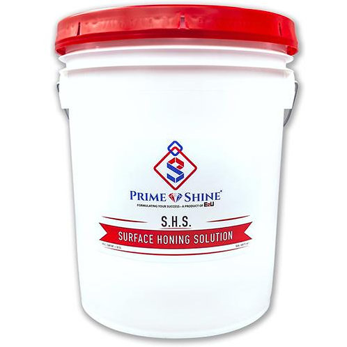 PRIME SHINE S.H.S. SURFACE HONING SOLUTION - 5GAL