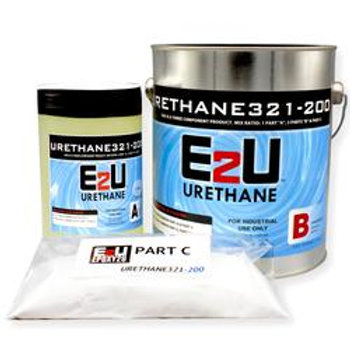 Urethane 321-200 Top Coat Kit 1gallon