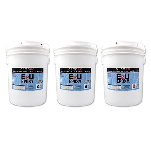 Epoxy 6150RC (Rapid Cure) Kit 15gallon