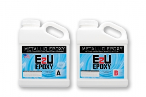 Metallic Epoxy (Clear) Kit 1.5Gallon