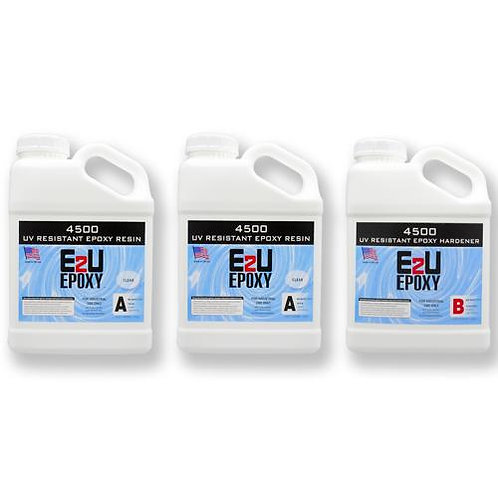 Epoxy 4500 UV Resistant Kit 3gallon