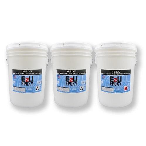 Epoxy 4500 UV Resistant Kit 15gal