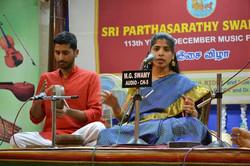 Parthasarathy Swami Sabha concert - Dec 22, 2013
