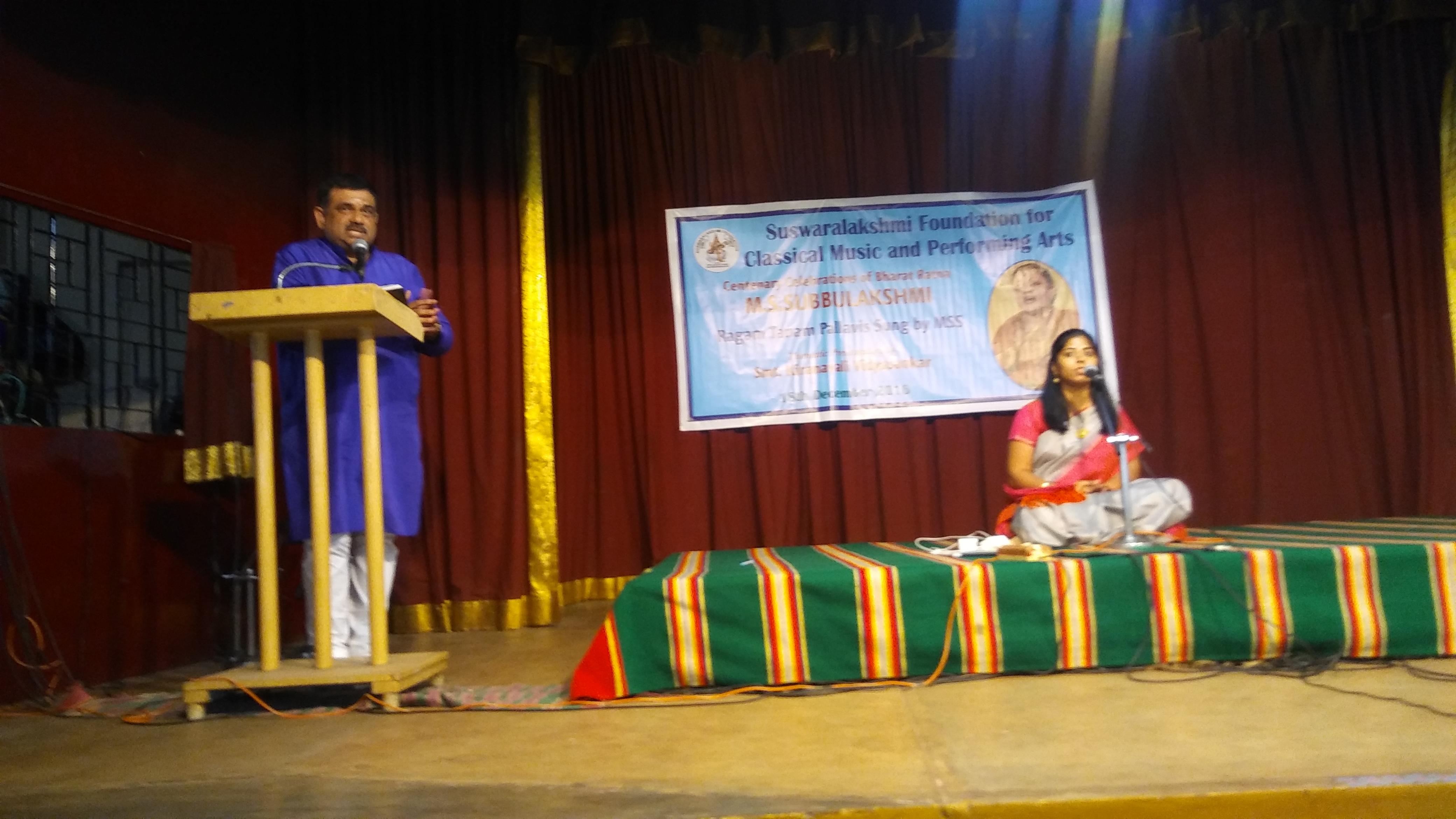 V Shrinivasan @ Raga Sudha hall