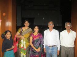Post-concert @ SICA, Hyderabad