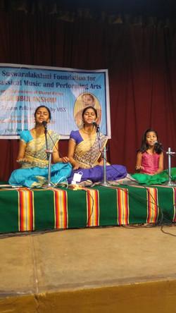 Anahita, Apoorva & Akshara