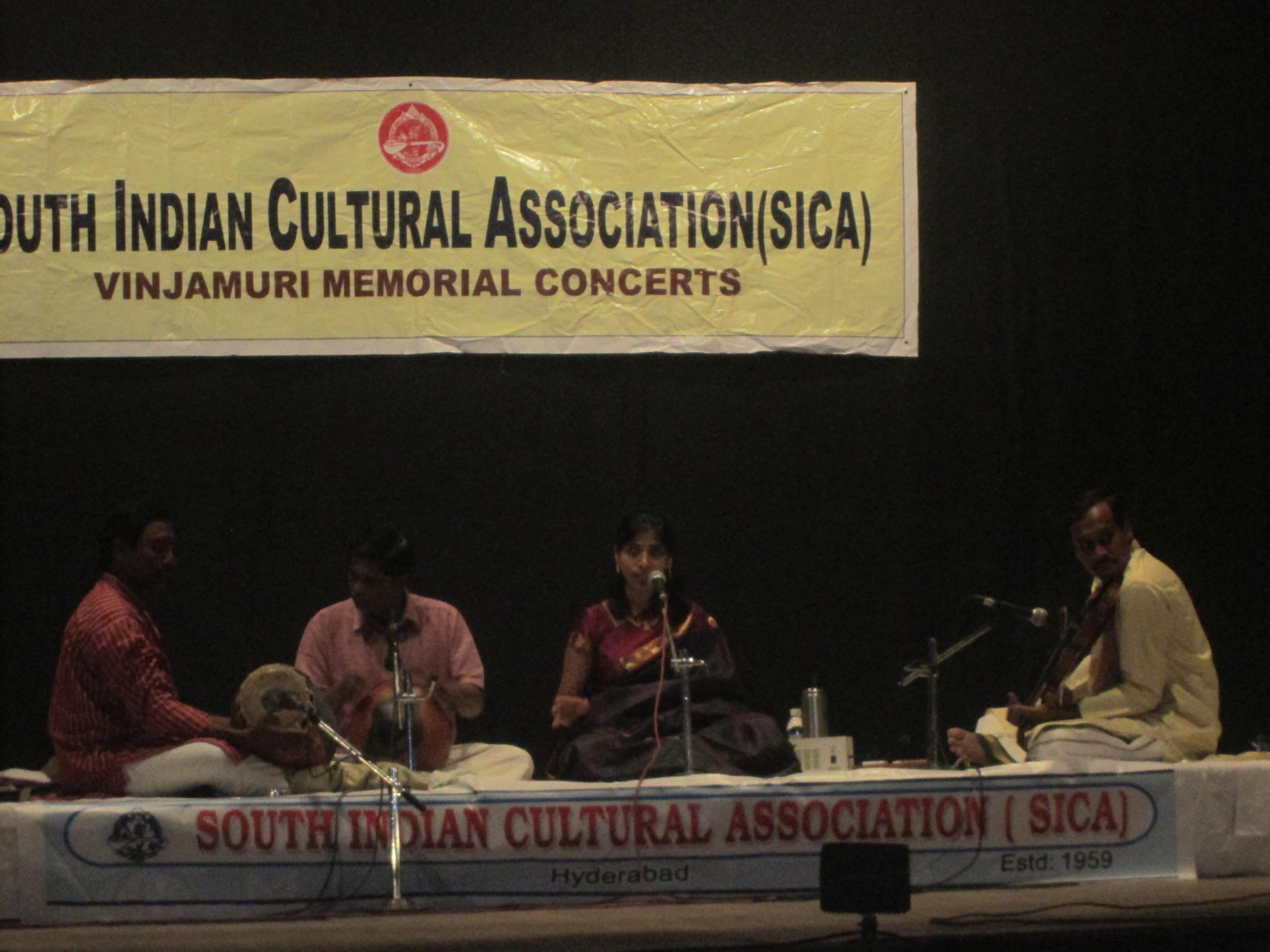 At SICA, Hyderabad