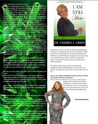 Tasheka Green His Favor Magazine Winter