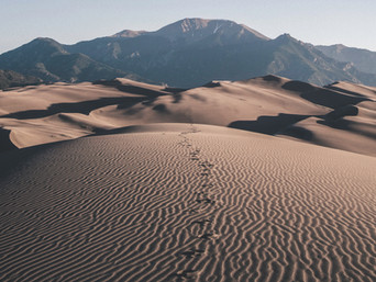 Is God walking with you?  5 Theological Questions in the 'Footprints' Story