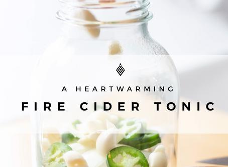 A Heartwarming Fire Cider Tonic