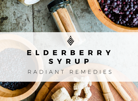 A Nutrient-Rich Elderberry Syrup by Nikki of Cosmic Conduit