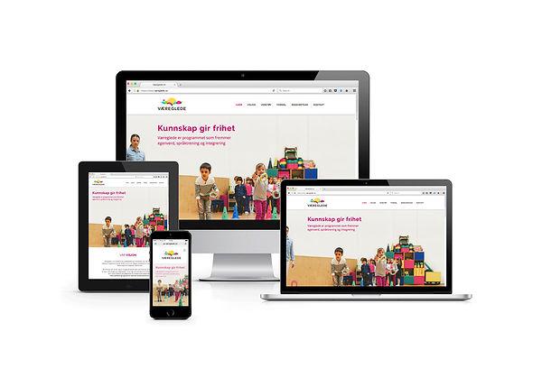 Væreglede webdesign