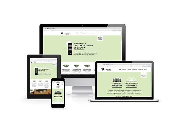 V-Hosting webdesign