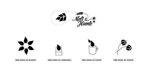 Malt & Humle illustrasjoer
