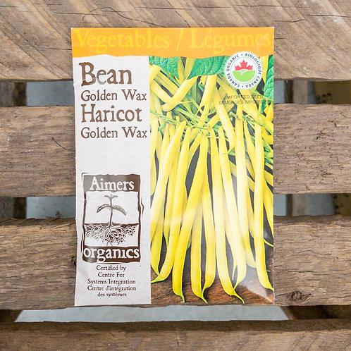 Beans - Golden Wax - Organic