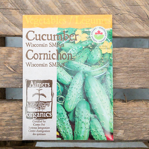 Cucumber - Wisconsin - Organic