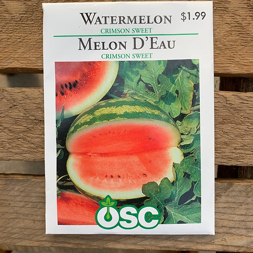 Watermelon - Crimson Sweet