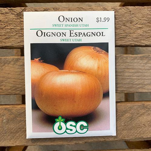 Onions - Sweet Spanish Utah