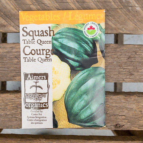 Squash - Table Queen - Organic