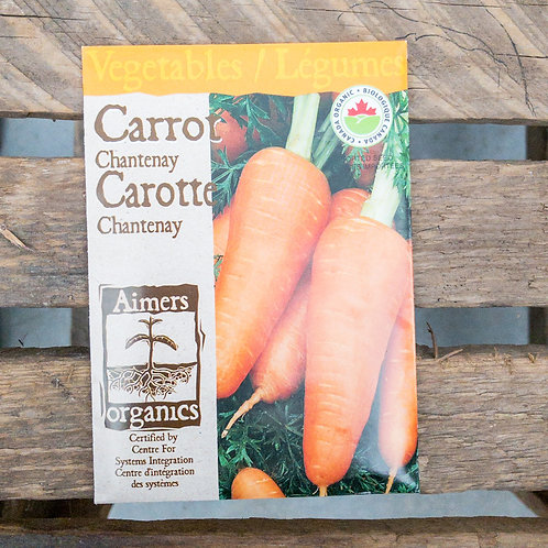 Carrot - Chantenay - Organic