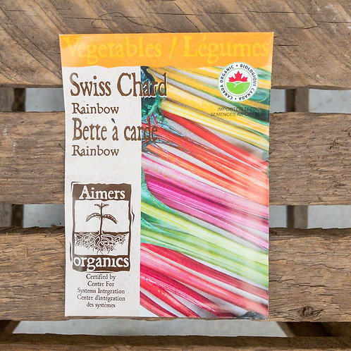 Swiss chard- Rainbow - Organic