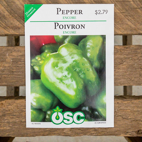 Pepper - Encore