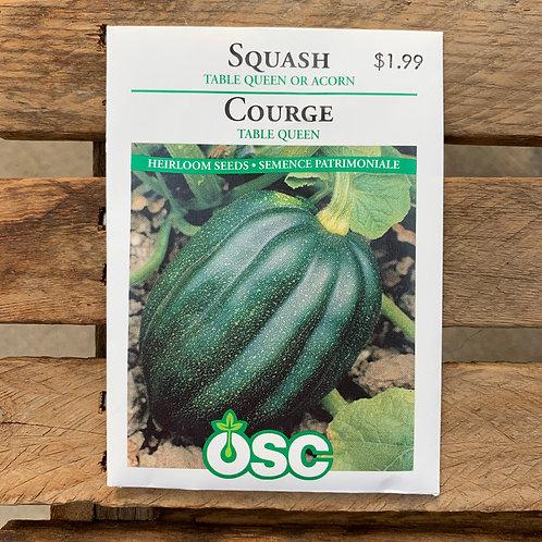 Squash - Acorn or Table Queen