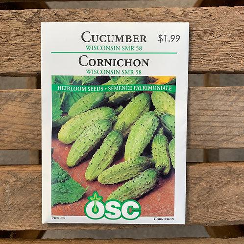 Cucumber- Wisconsin SMR 58