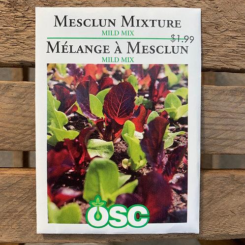 Mesclun Mixture - Mild Mix