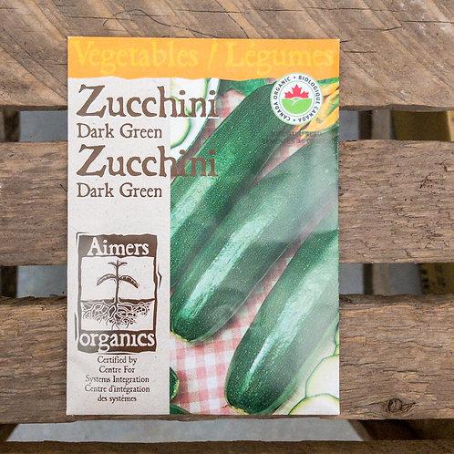 Zucchini - Dark Green - Organic