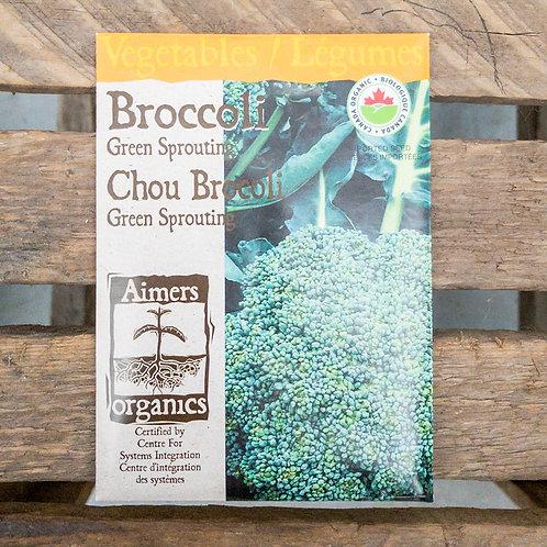 Broccoli - Green Sprouting - Organic