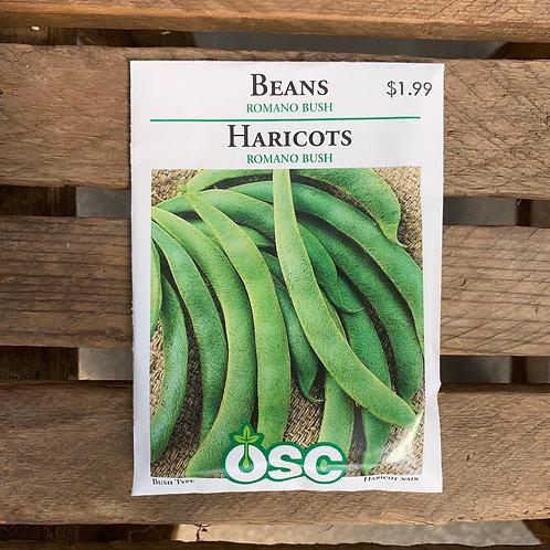 Beans - Romano Bush