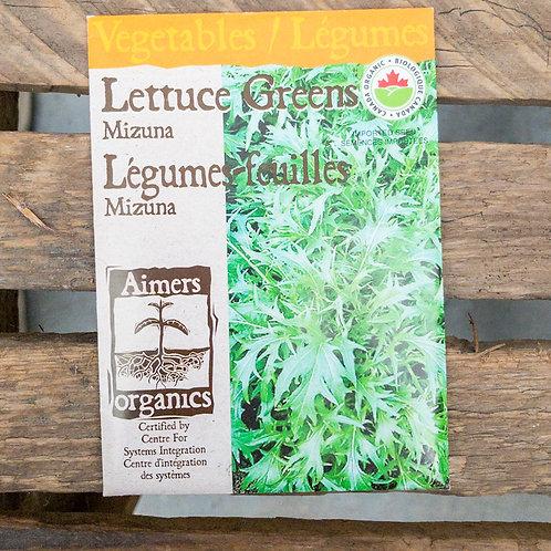 Lettuce - Mizuna - Organic