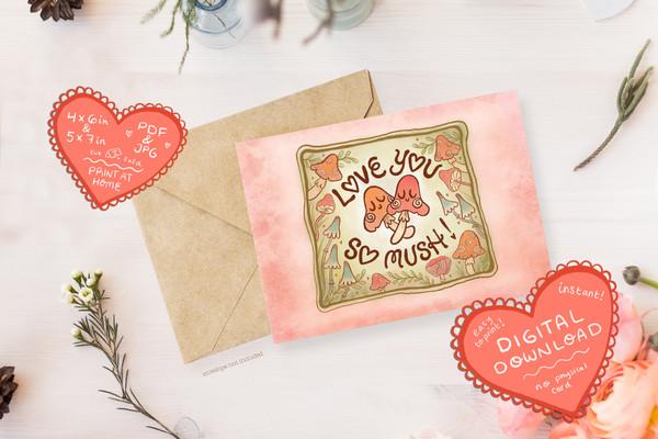Free Beautiful Greeting Card MockUp Psd-