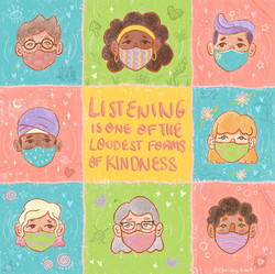 Listening Is One Of The Loudest Forms Of Kindness