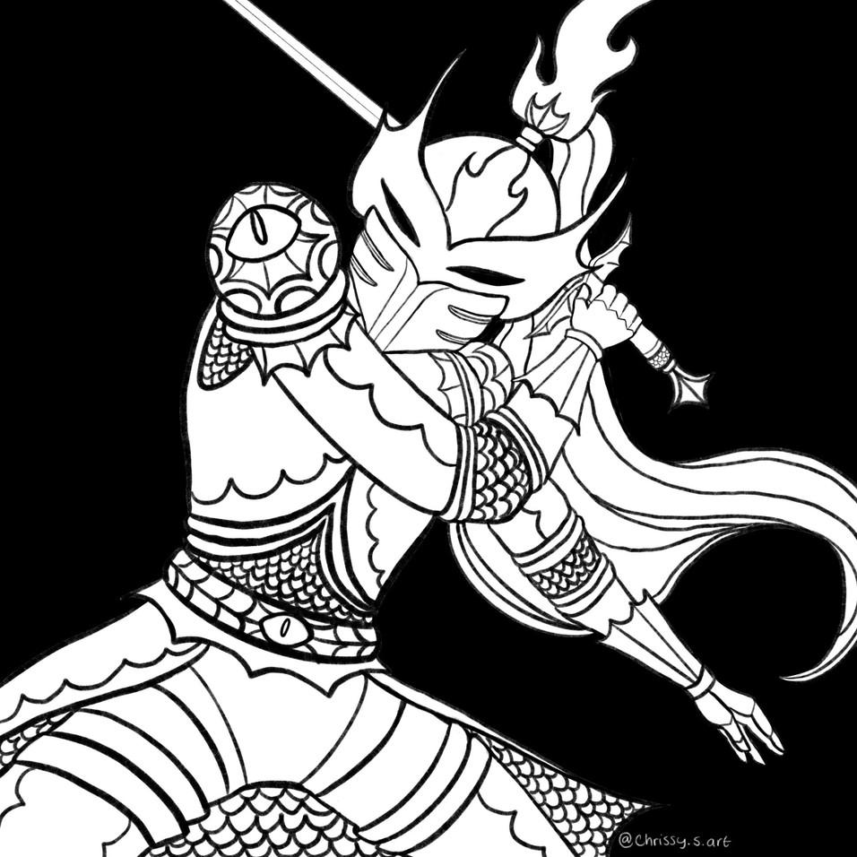 christine-syracuse_inktober-2020-armor.J