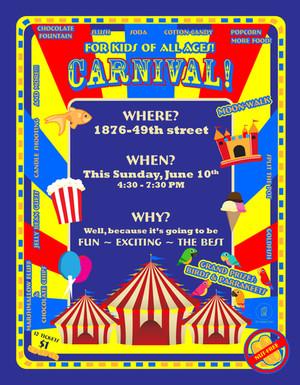 Carnival Art Kiddie Ad