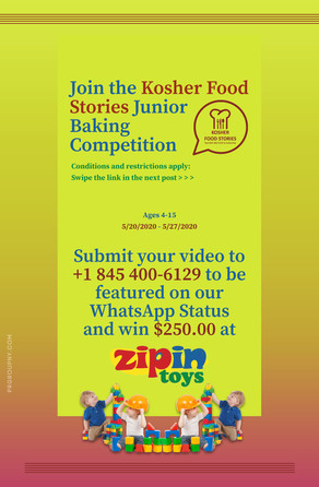 Food Stories Contest Ad